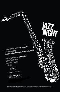Jazz Night Poster 7-30-15