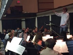 Pinadore Orchestra Rehearsal