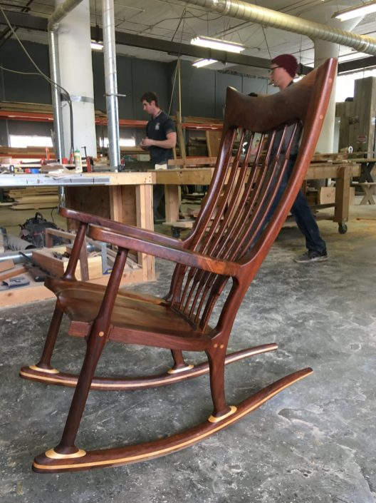 Sam Maloof Rocking Chair - Walnut