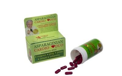 Asparaginian Cardio Duo – zadbaj o swoje serce i ciśnienie!