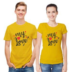 My Love Couple T shirts