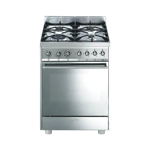 Cucina Gas Forno Multifunzione Smeg C6GMXI82 Inox  UniPrice