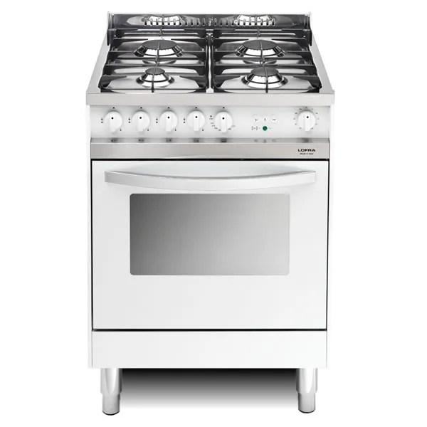 Cucina Gas Lofra Maxima 60 Bianca MB66MF Forno