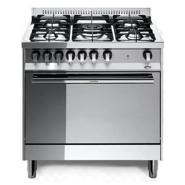 Cucina Gas Forno Elettrico Lofra MG86MFC Inox Specchio