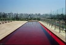 Red Swimming Pool