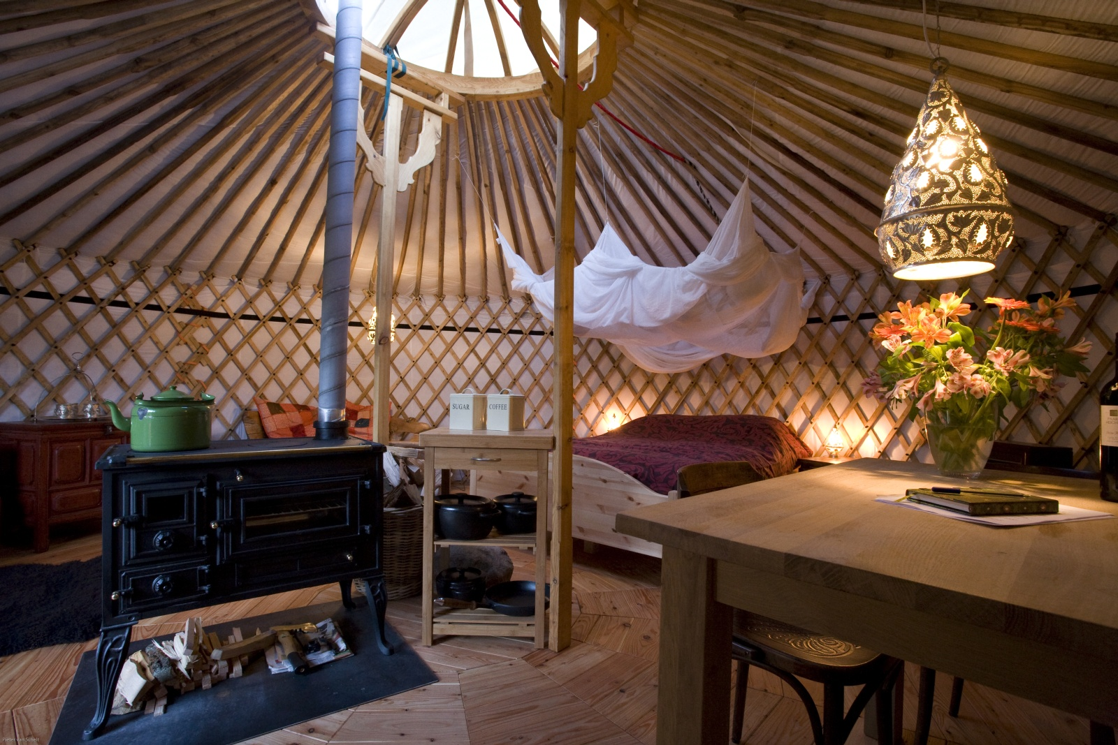 Texel Yurts  Warm and Inviting Yurt Camp