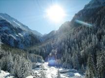 Ice Hotel Romania Landscape