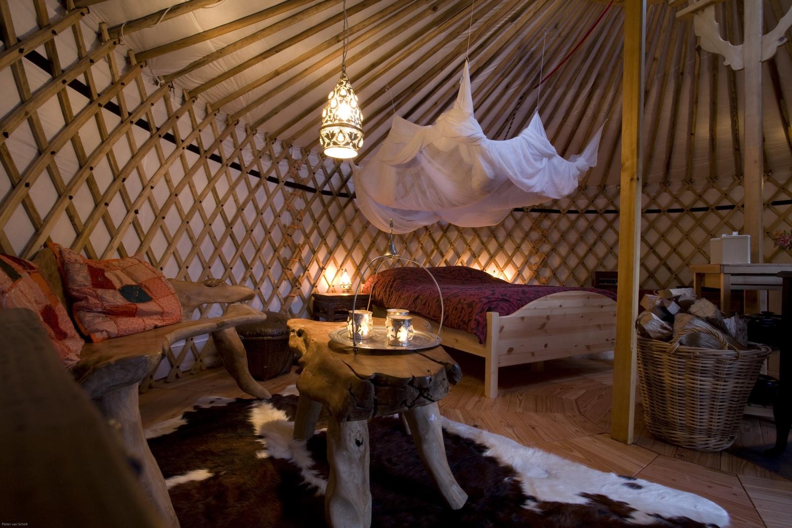 Texel Yurts  Warm and Inviting Yurt Camp