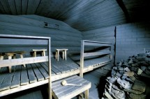 Kakslauttanen Igloo Hotel Sauna