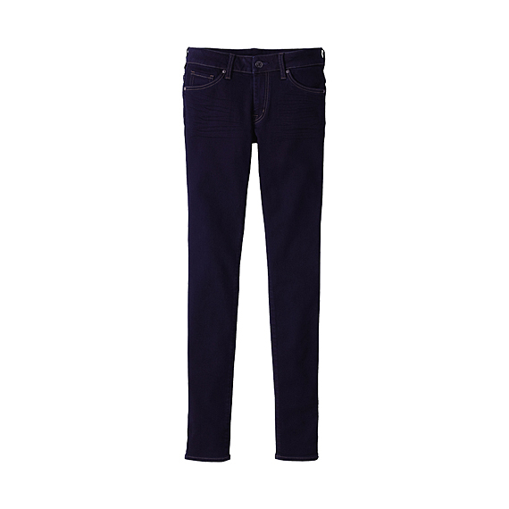 WOMEN Skinny Fit Tapered Jeans D