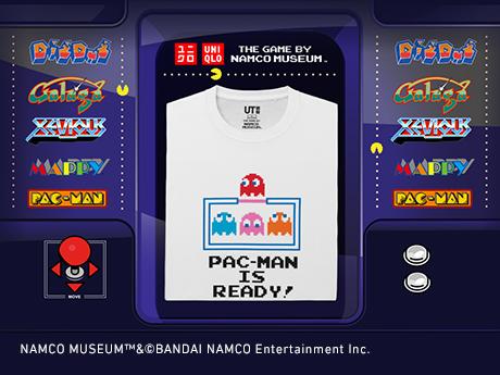 ザ ゲーム バイ ナムコミュージアム 数々の名作8ビットゲームがUTになって登場。8月6日(月)より販売開始予定。