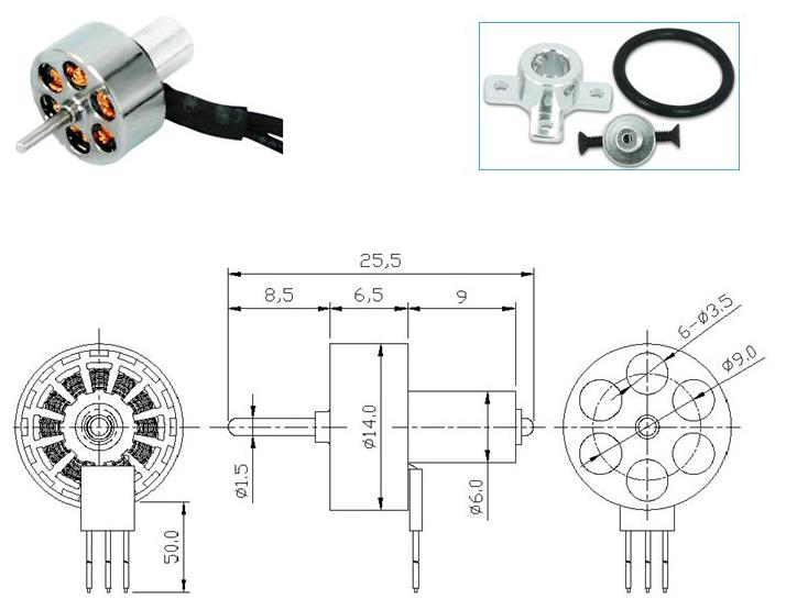 Uniquals- Brushless and Brush motors for Pumps Power Tools
