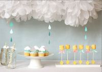 April Showers Baby Shower Themes, Food, Decorations and ...