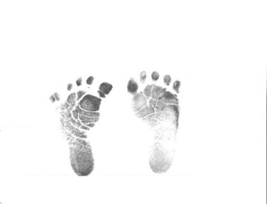 baby ink footprint girl boy picture frame blanket scrapbook kit baby hand footprints photo graphics graphic pic pictures images free baby feet print