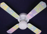 Cute Ceiling Fans for Kids Rooms and the Babys Nursery