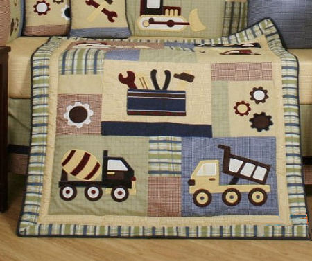 94 99 269 Baby Custom Bedding Construction Zone