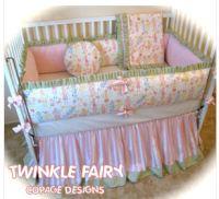 Fairy Bedding for a Baby's Nursery