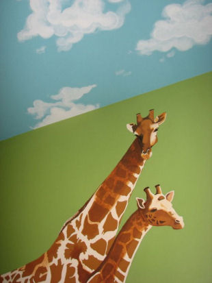 Jungle Mural Ideas for the Babys Nursery and Kids Room Wall