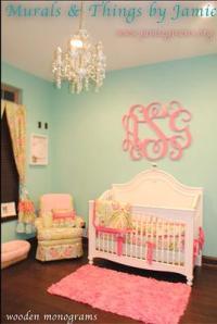 Girls Nursery Ideas   Best Baby Decoration