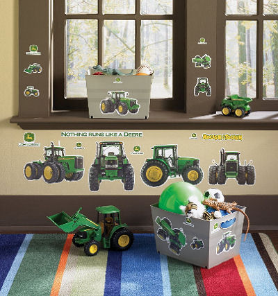 John Deere Bedding and Decorating Ideas for a Babys Nursery Room