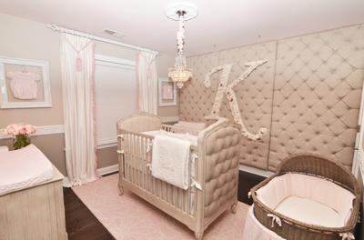 Kennedys Pink and Grey Rococo Princess Palace Nursery