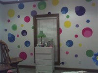 Painting Polka Dots - Ideas for Painting the Walls of the ...