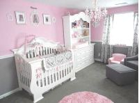 Pretty Pink and Gray Princess Nursery for Our Baby Girl