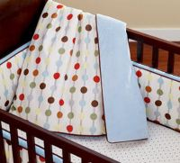 Red,White and Baby Blue Nursery