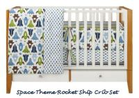 Robots and Rockets Baby Nursery Theme