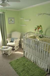 Serene Green Gender Neutral Nursery