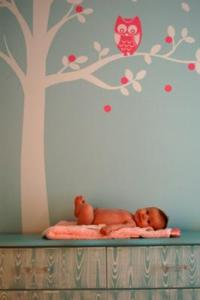 Tree Mural Ideas for the Walls of Your Baby's Nursery Room