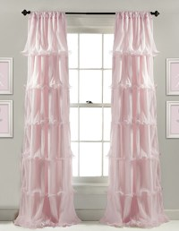 Pink Curtains and Window Treatment Ideas for a Baby Girl ...