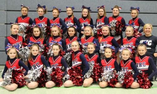 Teamfoto Junior Hearts
