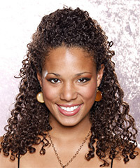 Hairstyle For Natural Curly Hair In African American Fusion Hair