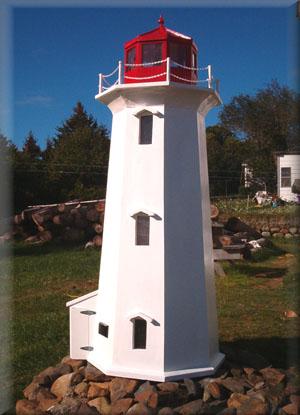 Unique Wood Products Cedar Mailboxes Lighthouse