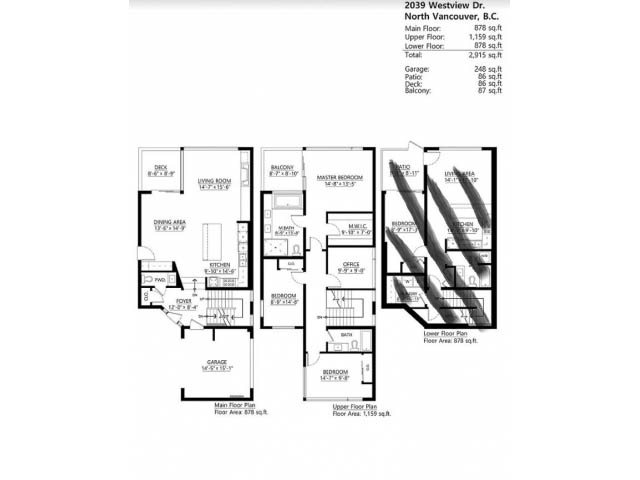 4 Bdrm House for Rent in North Vancouver