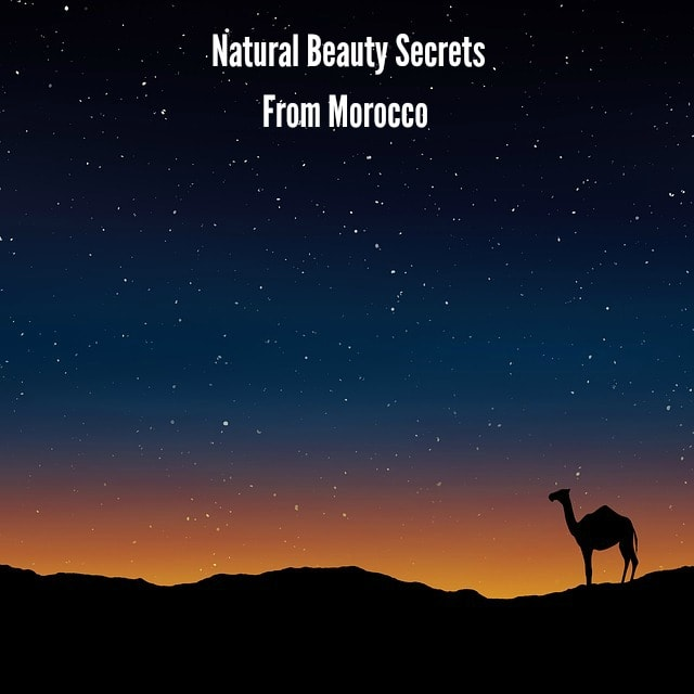 beauty products from Morocco