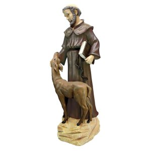 Saint Francis outdoor statues