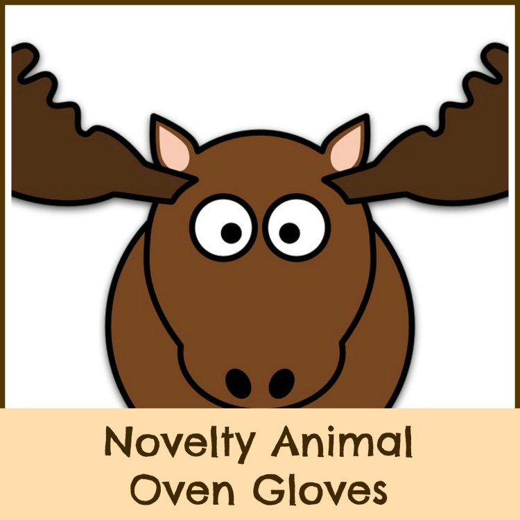 novelty animal oven gloves