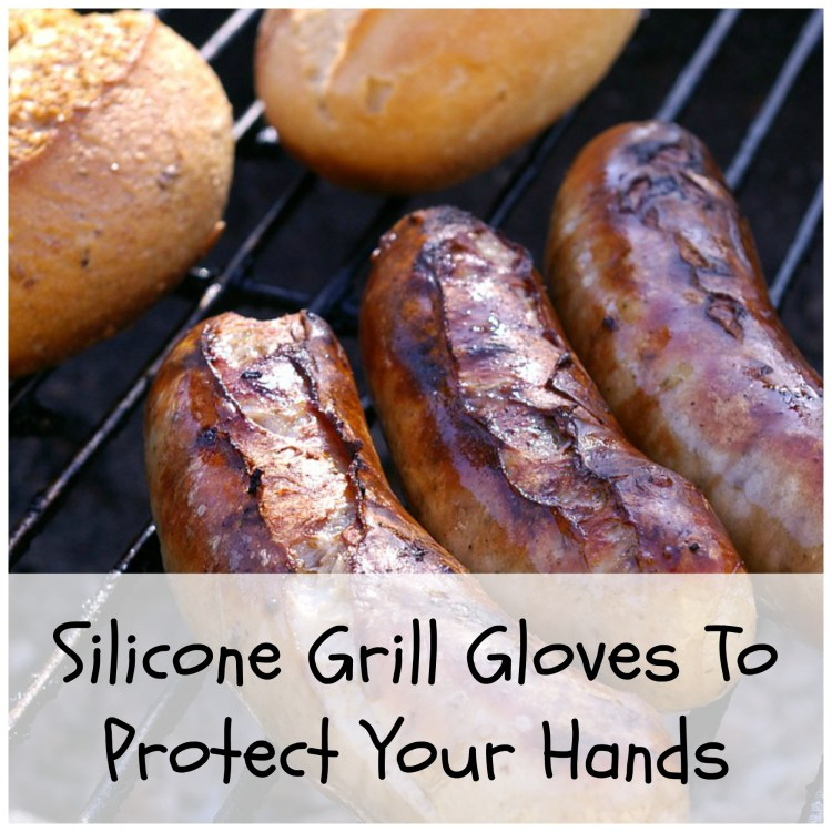 silicone gloves to grill