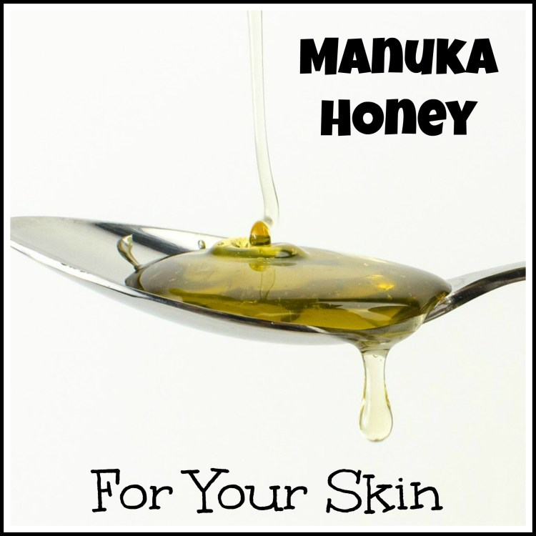 Manuka honey skin treatment