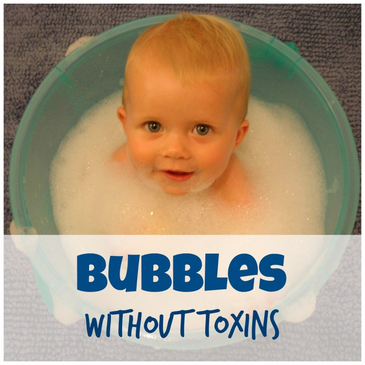 non toxic bubble bath for kids