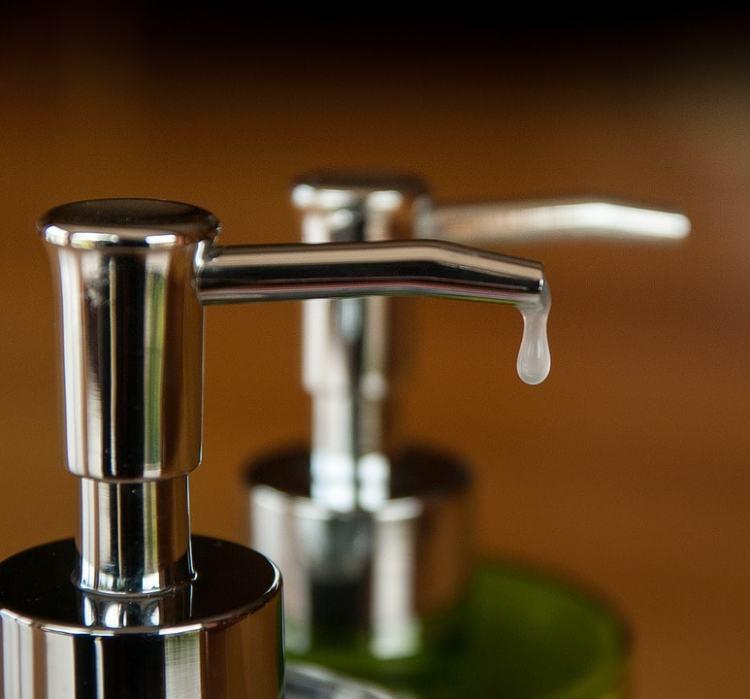 non antibacterial liquid hand soap