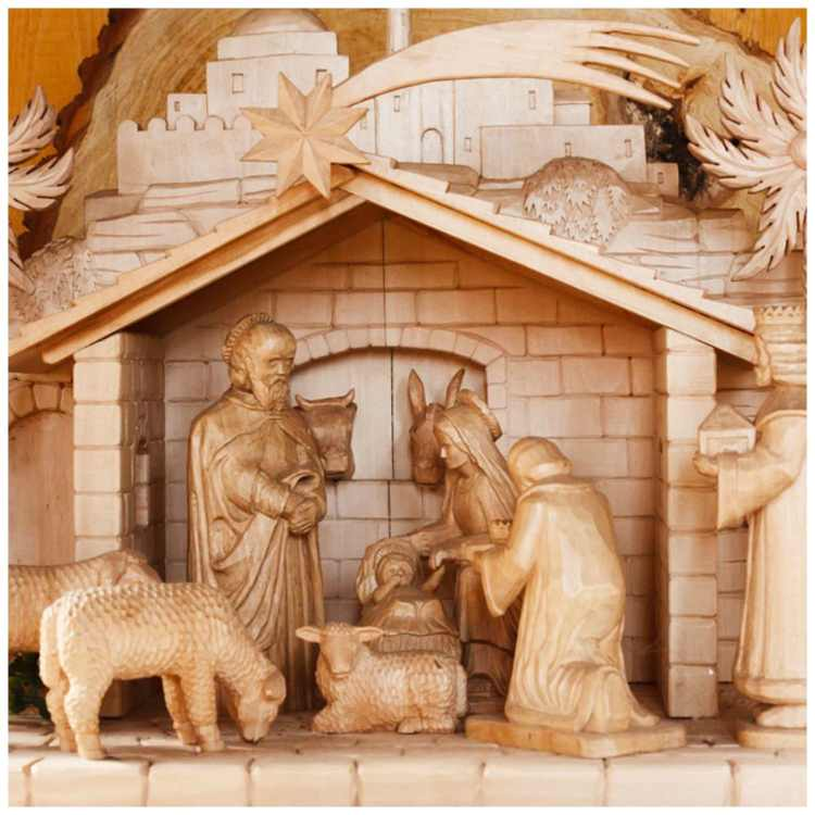 olive wood carvings from Bethlehem
