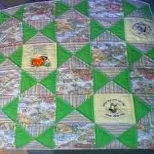 Nursery Rhymes Handmade Baby Quilt