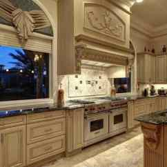 Custom Kitchen Stone Top Table Houston Cabinets 2 640x480 Unique Builders