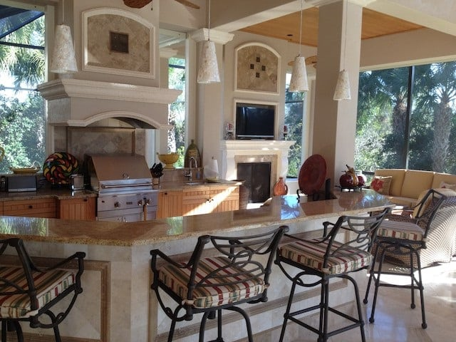 Custom Outdoor Kitchens Houston  Over 30 Years of Experience