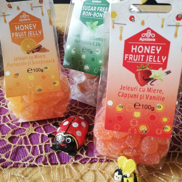 Sugestie pentru cadouri dulci: jeleuri fructate