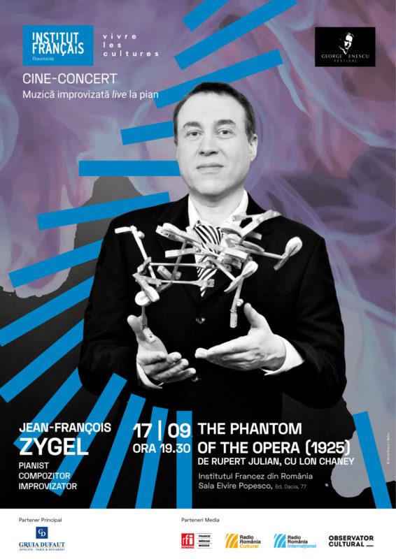 JF Zygel Cineconcert 17sept2019 Imaginile lui Enescu aprind imaginația artiștilor români