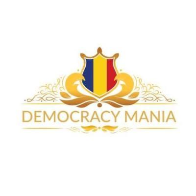democracy mania logo Implică-te, votează, contribuie la consolidarea democrației!